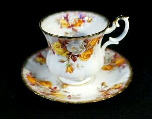 Beautiful Royal Albert Lenora Demitasse And Saucer