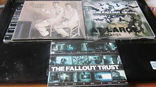 THE FALLOUT TRUST - lot of 3xCDs including promo and a tour CDROM indie rock EX