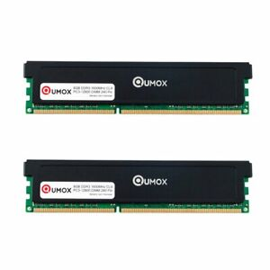 QUMOX 16Go(2x 8Go) DDR3 1600 1600MHz PC3-12800 (240 PIN) DIMM Mémoire XMP CL9