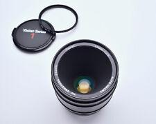 Vivitar Auto Macro 55mm f2.8 Lens Canon FD Mount Komine Classic 1/1 Caps (#4227)