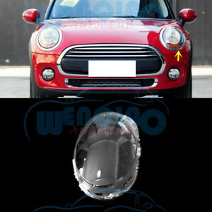 High Quality Left Side Headlight Clean Cover PC+Glue For Mini 2014-2020