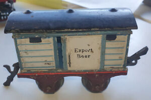 ~~~ Marklin 1808 Export Beer goods car in g.0 from 1906-1912 good condition ~~~