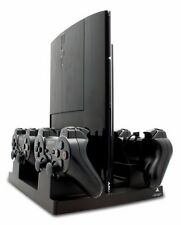 Official Sony PlayStation 3 Licensed Mains Powered Quad Charging Stand - VS2788
