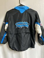 Vintage 90's NFL Authentic Sideline Carolina Panthers Reebok Pullover Jacket