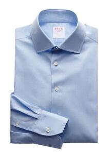 Thomas Pink Tailored Poplin Button Cuff Shirt
