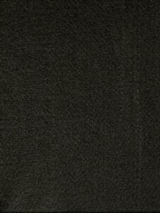 "Classic Black Acrylic Felt Fabric Craft Padding Soft 72"" Wide By The Yard"