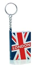 London Union Jack Notebook Keyring Key Chain Souvenir Gift UK GB UJ Flag Novelty