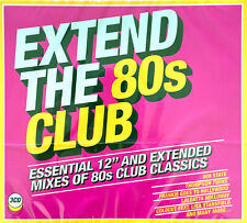 "Compilation 3xCD Extend The 80s Club (Essential 12"" And Extended Mixes Of 80s Cl"