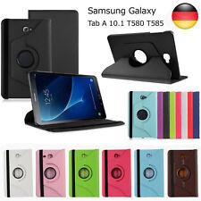 360°Samsung Galaxy Tab A 10.1 Tasche Schutz Hülle Etui Flip Case Smart Cover TOP