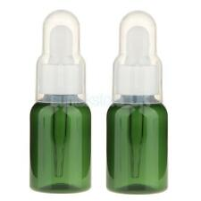 2pcs 35ml Refillable Dropper Bottles Essential Oil Container - Green