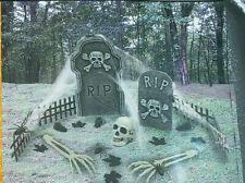 Cemetery Scene Halloween Prop Decorations Kit NEW
