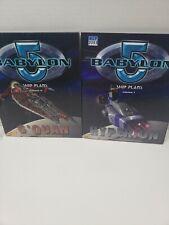 Babylon 5 Rpg Ship Plans Volume 1 & 2 Hyperion , G'Quan Jd0129