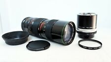 Olympus PEN OM Panasonic LUMIX Micro 4/3 DSLR fit HANIMEX 300mm 900mm ZOOM lens