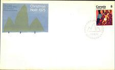 CANADA First Day Cover FDC Christmas Noel Weihnachtsmarken Briefmarken 1975 8 C.
