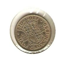 1950 Great Britain Coin 1/2 Crown - King George Vi - Gb - Uk