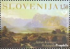 slovenia 743 mint never hinged mnh 2009 landscape painting