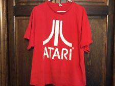 Vintage Atari Red T-Shirt Size Extra Large Retro Look