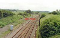PHOTO  HOUGHAM RAILWAY STATION LINCOLNSHIRE KESTEVEN SITE 1992 GNR MAIN