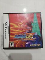 Mega Man Zero Collection Nintendo DS 2010 CIB Complete w Manual & Case EXCELLENT