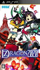 Used PSP 7th Dragon 2020 Japan Import Free Shipping