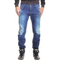 G-Star Arc 3D Slim Medium Aged Destroy Jeans Maldon Denim Tapered Leg