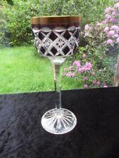 Bleikristall Weinrömer Klokotschnik um 1970 Sammlerstück wine glass verre à vin