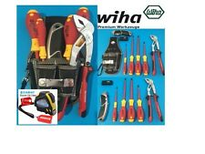 Tool Kit Wiha German Precision VDE Screwdrivers - Multigrips with Pouch *BONUS