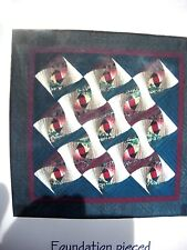 """AUSTRALIAN ODYSSEY - DEEZIGNER QUILTS-50"""" X 50""""-FOUNDATION PIECING-PATTERN ONLY"""