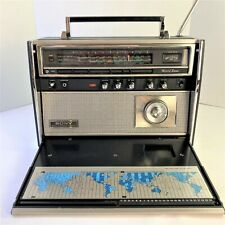 SONY CRF-5090 9-Band FM AM LW VHF AIR & Shortwave Earth Orbiter Radio WORKS