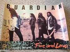"Guardian ""Fire and Love"" Christian band poster, 16""x22"""