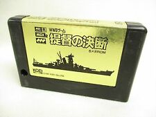 MSX TEITOKU NO KETSUDAN Cartridge only Import Japan Video Game msx
