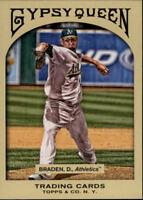 2011 Topps Gypsy Queen Baseball #117 Dallas Braden