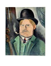 Maurice de Vlaminck Lithograph Limited Portrait Of The Artist Mourlot 1958 Rare