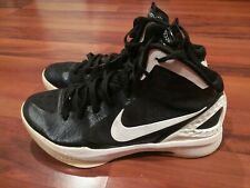 1d46222ed10 Nike Zoom Hyperdunk Mens Athletic Basketball Shoes Sneakers Black White  Size 10