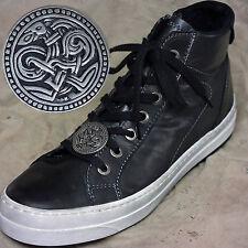 Neuheit ZINN Shoe Pins Haithabu f. Chucks Biker Boots Sneakers Lederschnürhose