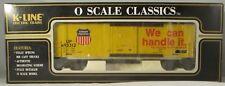 K-Line K765-2111 Union Pacific Classic Box Car #493312 LN