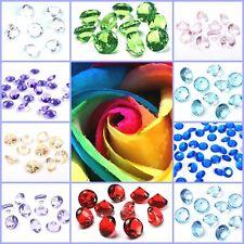 Dekosteine 100 Stk.Streudeko Hochzeit Tischdeko Diamanten Steinchen Dekoration
