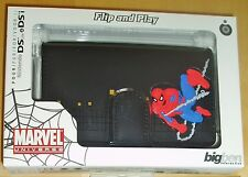 MARVEL HEROES DSi Dsi Lite Custodia Spiderman Custodia In Gomma In Nero