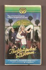 HOLLYWOOD DREAM 1977 (Super Video) a.k.a. Game Show Models BIG Box clamshell vhs