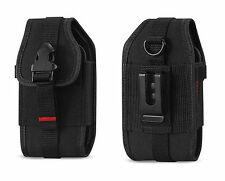 Canvas Case Holster Clip for Boost Mobile Samsung Array SPH-M390 / Rant SPH-M540