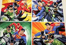 NEW Fabric Panel Justice League Batman Superman Flash Cotton Material Kids