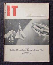 1955 IT #5 Fanzine VG Checklist of Science-Fiction, Fantasy & Horror Films