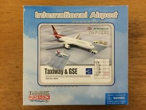 Dragon Wings 1/400th Scale Air Madagascar 767-300 Model & Airport Diorama Set