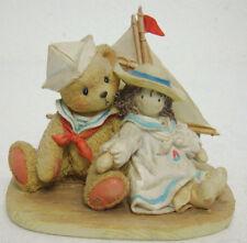 Cherished Teddies Zachary Sailor Bear Yesterday's Memories 950451 Mint