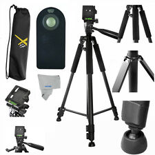 "PRO 60"" Photo Tripod + REMOTE For Canon EOS Rebel DSLR T1 T2 T3 T4 T5 T5I T3I"