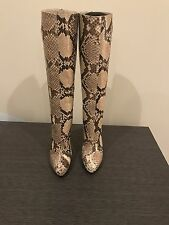 Christian Louboutin Python Boots New Authentic Size 38