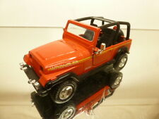 ROAD CHAMPS JEEP WRANGLER - RED 1:43 - VERY GOOD CONDITION - 57
