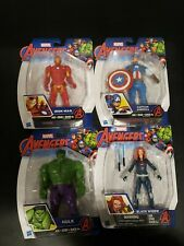"Avengers Set Of 4 6"" Figures Hasbro Sealed Classic Comic"