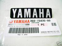 Yamaha RD250 RD350 Crankcase Emblem NOS RD200DX Cover Decal BADGE 360-15435-00