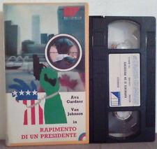 VHS FILM Ita Thriller/Azione RAPIMENTO DI UN PRESIDENTE ex nolo no dvd(VH33)